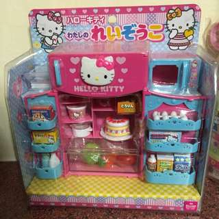 Kitty冰箱玩具組