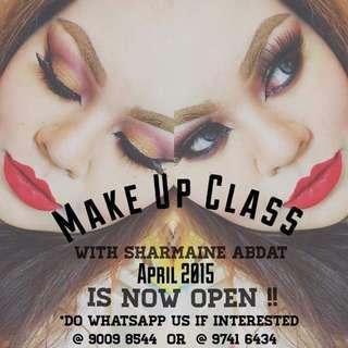 Make Up Class April Intake