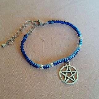蠟線手環-六芒星