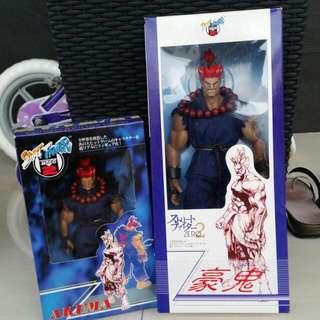 "Street Fighter Akuma 10"" Mint (6"" No Longer Available)"