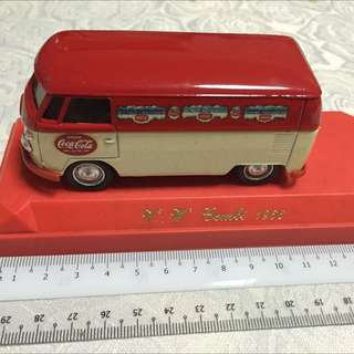 Coca Cola V W Combi 1966 Limited Pc