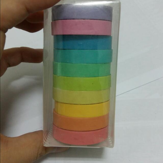 (保留嘍)彩色膠帶