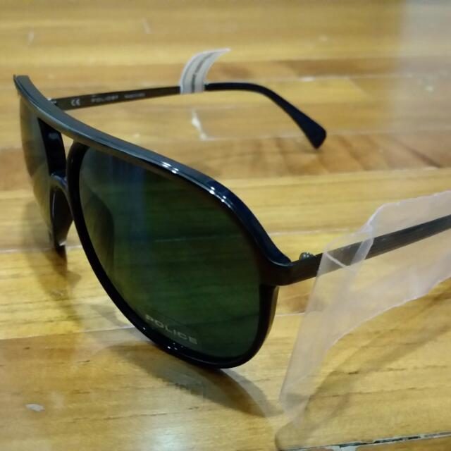 81be3189dc4bd Brand New Authentic Police Sunglasses (Blue Lens)