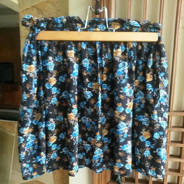 MnG Floral Skirt
