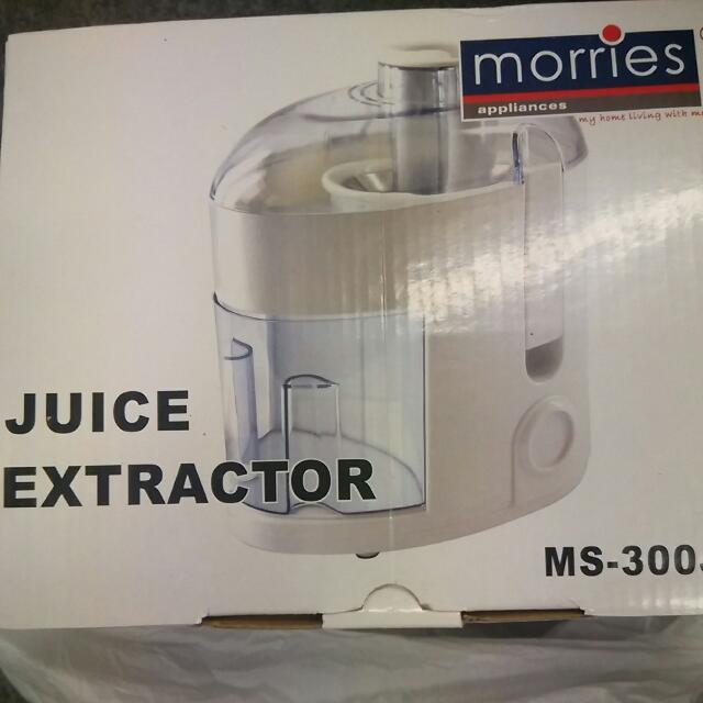 Preloved Morries Juice Extractor MS-300JE