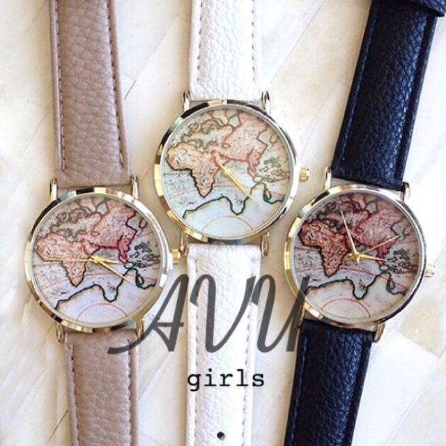 World map watch🌎🌍🌏