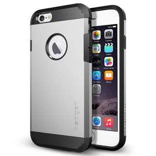 AUTHENTIC Spigen (Tough Armour) iPhone 6+ (Grey)