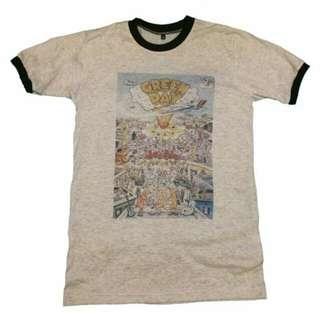 Greenday Dookie Album Band T Shirt