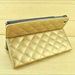 Quilted Chanel Inspired iPad Case