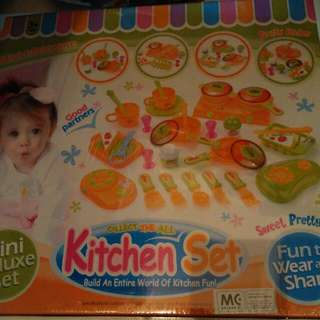 BNIB Kitchen Set Toy