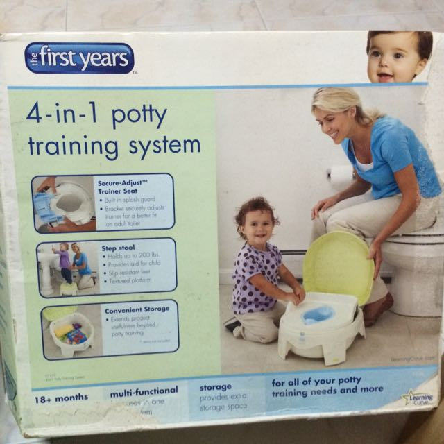4 In 1 Potty System