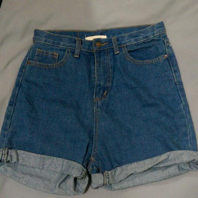 二手  復古風味寬鬆短褲