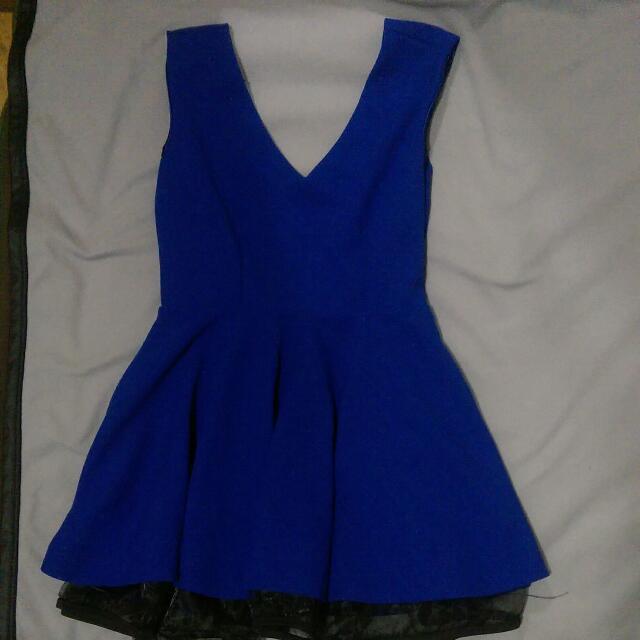 全新  美背性感小洋裝