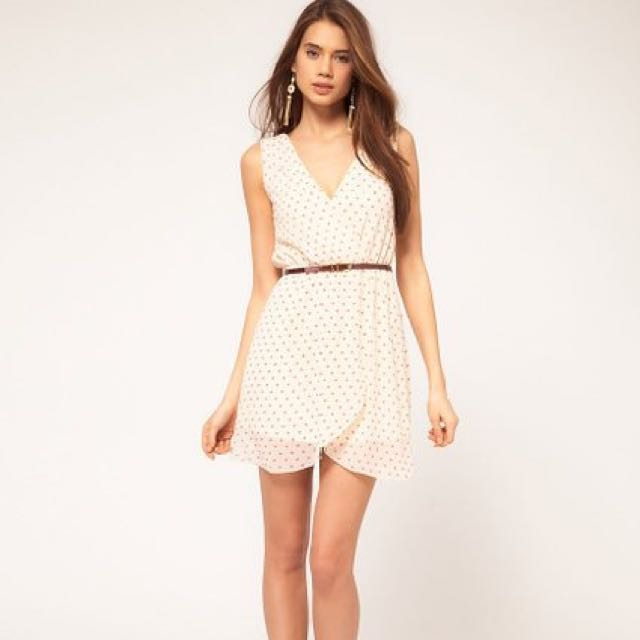 ASOS - TFNC Dree With Wrap Front
