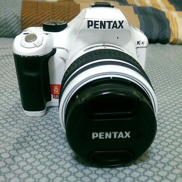 PENTAX K-r 單眼相機  羽毛白