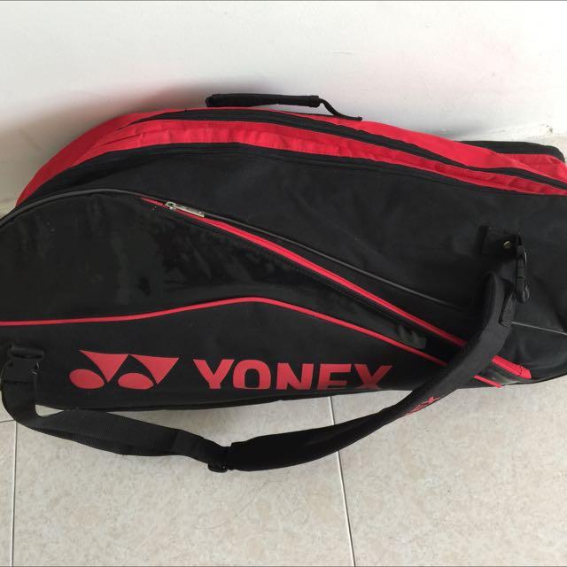 Yonex 3 zipper Bag