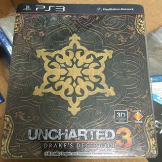 PS3 - Unchartered 3 Used