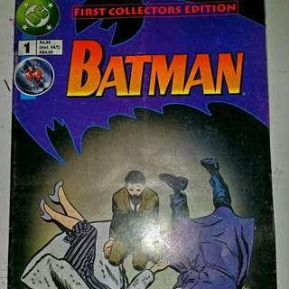 Vintage Batman No.1 Collector Edition