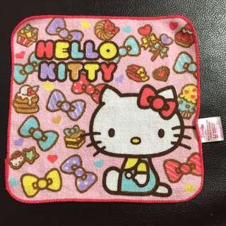 Kitty小方巾