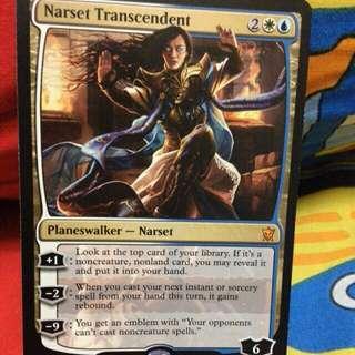 Magic The Gathering Narset Transcendent Planeswalker