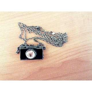 Vintage Nikon Camera Necklace