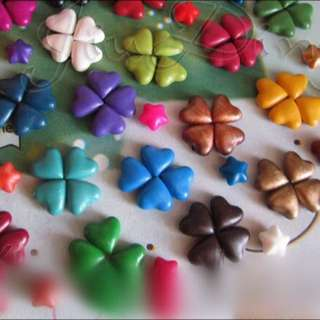 Preorder: 27 Colours Heart Shaped Sealing Wax Beads/Wax Sticks For Sealing Wax Stamp
