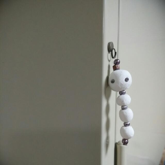 【小禮物😆】手作紙黏土毛毛蟲(附小型強力磁鐵一枚~)