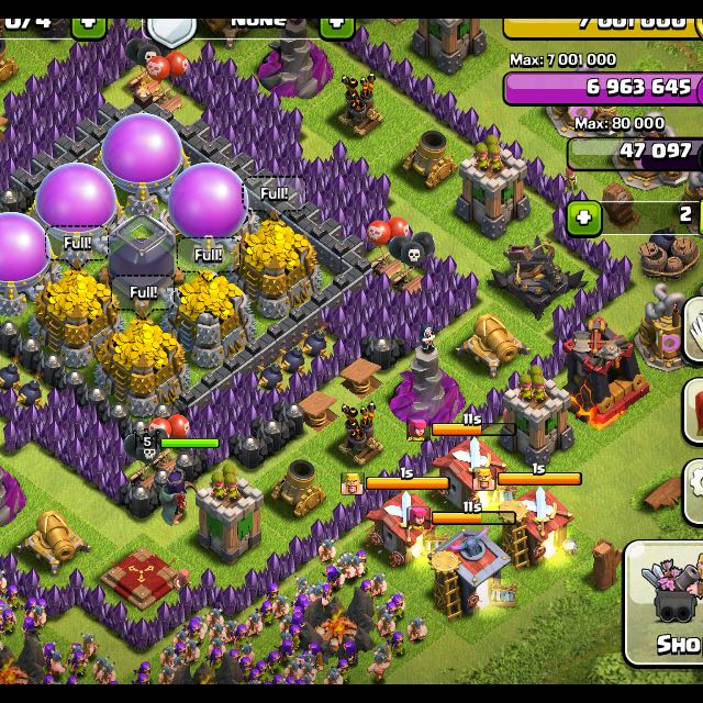 Clash Of Clans Farming Bot.