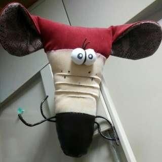 【手作小物】醜鼠頭