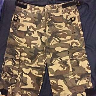 Lobanton迷彩短褲