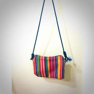 彩虹迷你小包包