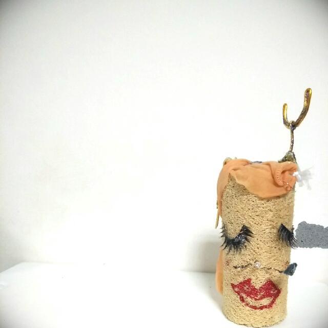 【小禮物😆】化妝的絲瓜乾👻