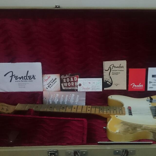 Fender Road Worn Telecaster 2012 Upgraded :)