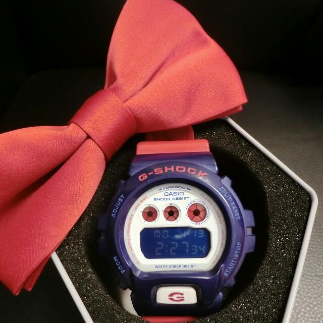 G-SHOCK 美國隊長配色 電子錶