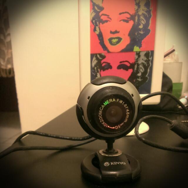 Kinyo隨插即用視訊webcam