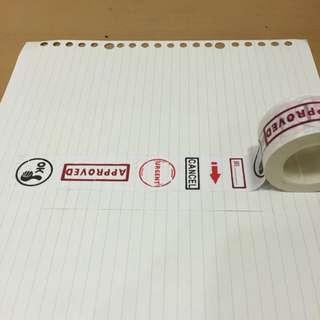 紙膠帶 標籤