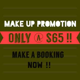 Make Up Service Promotion !!!
