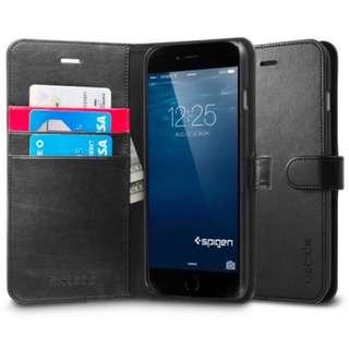 Spigen (Wallet S) iPhone 6 PLUS (Black)