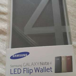 Note4 原廠LED星炫顯示保護套
