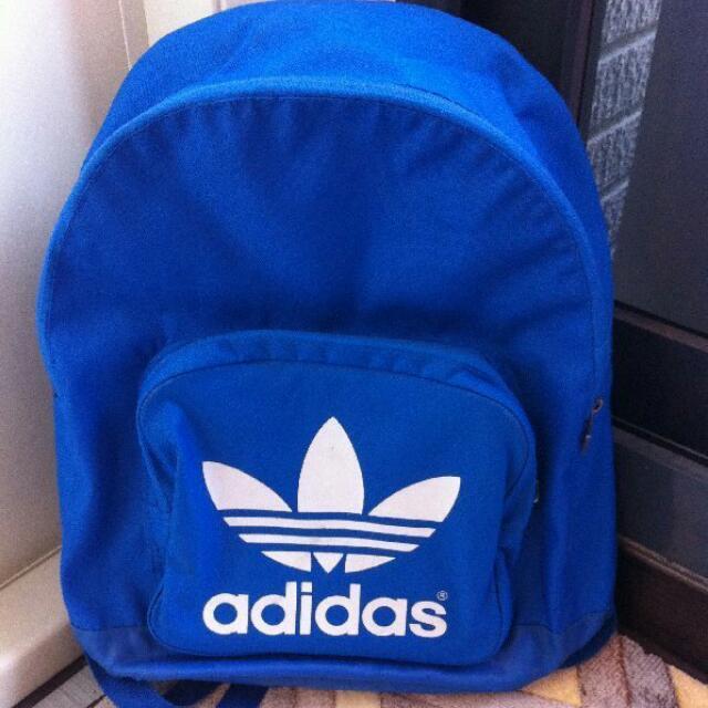 Adidas 後背包 藍色