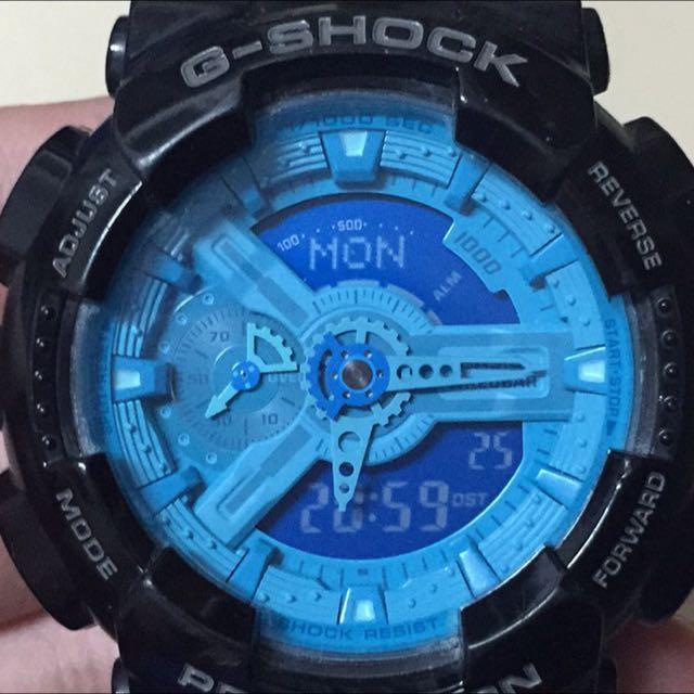 G-shock 黑藍錶