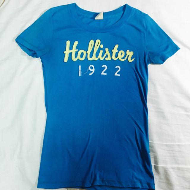 (保留中)Hollister水藍色上衣(二手)
