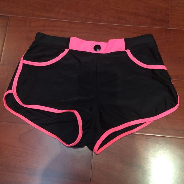 專櫃海灘泳褲(泳衣材質L)