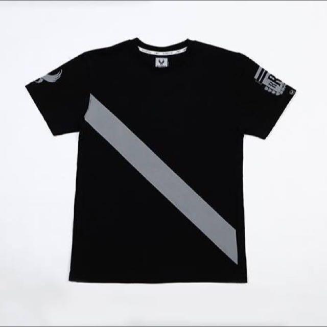 Remix Chips Tee 黑M 全新!附衣服防塵袋