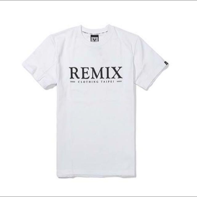 Remix Classic Type Tee 白L 全新!附贈衣服防塵袋