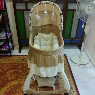 {RESERVED} **PRELOVED** Baby Cot
