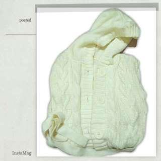 ✨米白毛衣外套