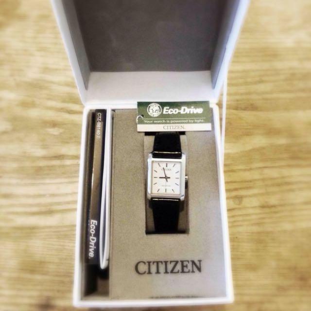CITIZEN  星辰 Eco-Drive 人氣經典 光動能 對錶 BM6780-07A & EP5910-08A
