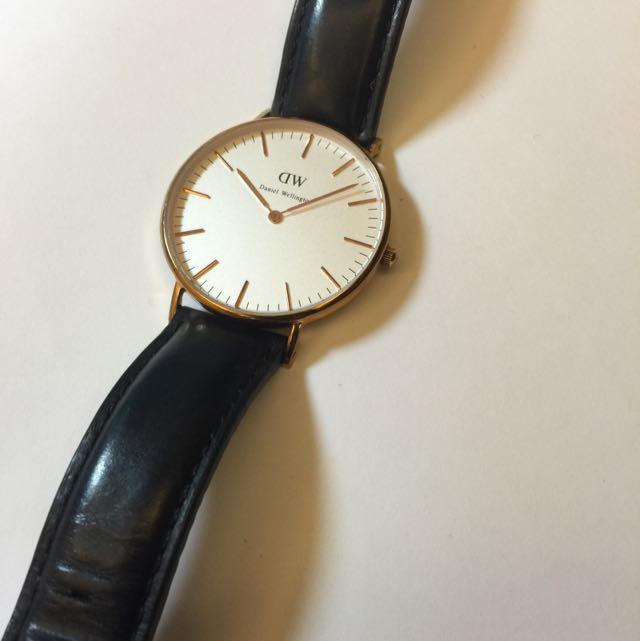 Daniel Wellington 玫瑰金手錶