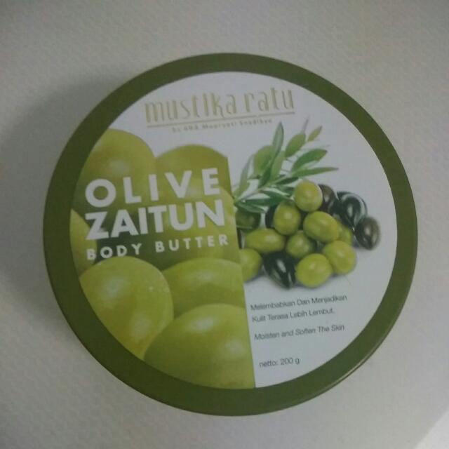 Mustika Ratu Olive Zaitun Body Butter